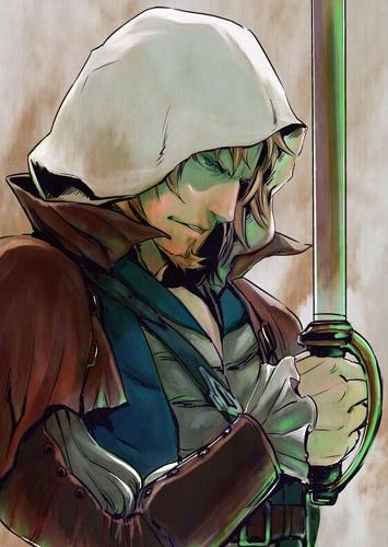 إعلان عن مانجا  Assassin's Creed IV