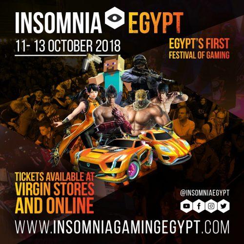 insomnia gaming festival egypt